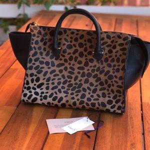 2e2fc323f897 Clare Vivier Bags   Clare V Leopard Sandrine   Poshmark
