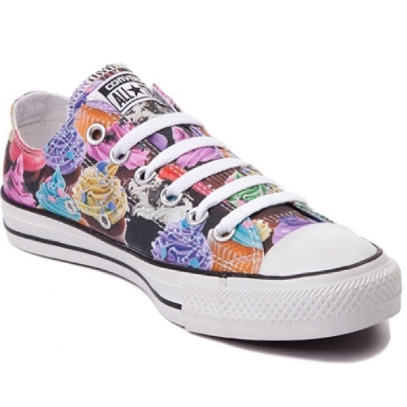 949abcf270bd28 Converse All Star cupcakes print lo Chuck Taylor
