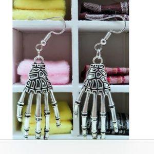 Jewelry - Skeleton Hand Earrings