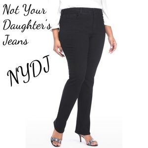 Not Your Daughter's Jeans NYDJ Rhinestone Black 14