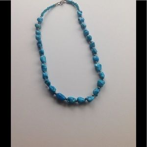 Jewelry - Artist made turquoise necklace