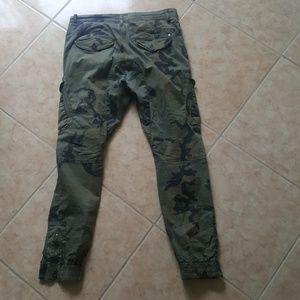 5d66f843c26 FSBN Pants - Slim Mens Cargo Camo Pants From FSBN