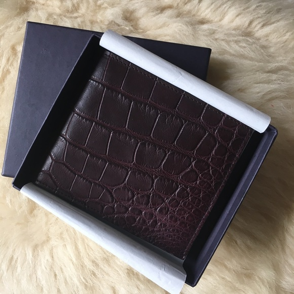 605fe20cee1c Prada Bags | Crocodile Leather Mens Wallet | Poshmark