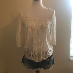 White American eagle top