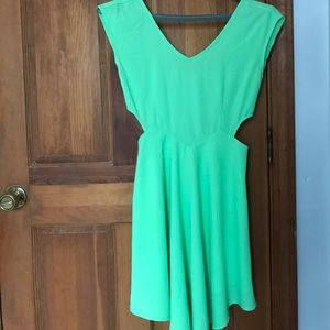 Dresses & Skirts - Bright Green Party dress
