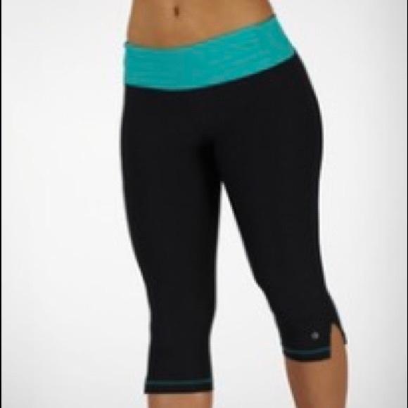 30c725dfce8ac0 Bally Pants | Total Fitness Capri Leggings | Poshmark