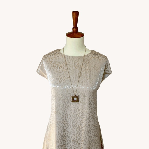 Anthropologie Dresses & Skirts - Cream Swing Dress