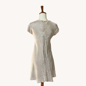 Anthropologie Dresses - Cream Swing Dress