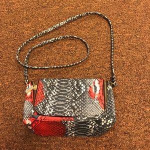 H&M snakeskin bag