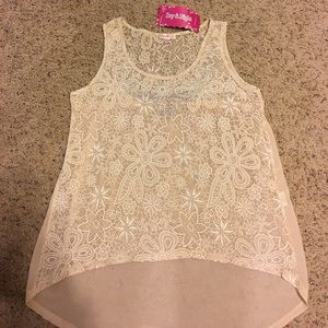 Tops - Women's boutique tank size L
