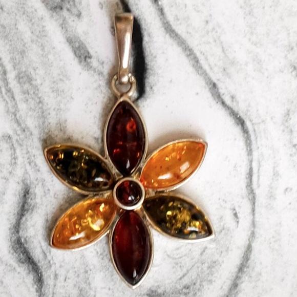 77eb90f52 Jewelry | Amber Pendant Necklacefrom New Zealand | Poshmark