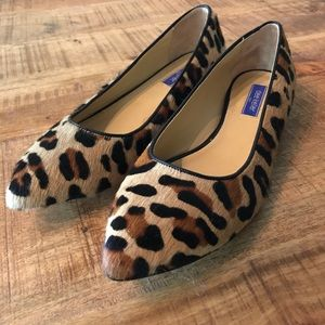 NWOT 38.5/8.5 Dee Keller Animal Print Flat Shoes