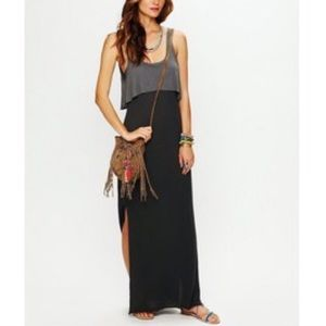 Free People layered maxi dress