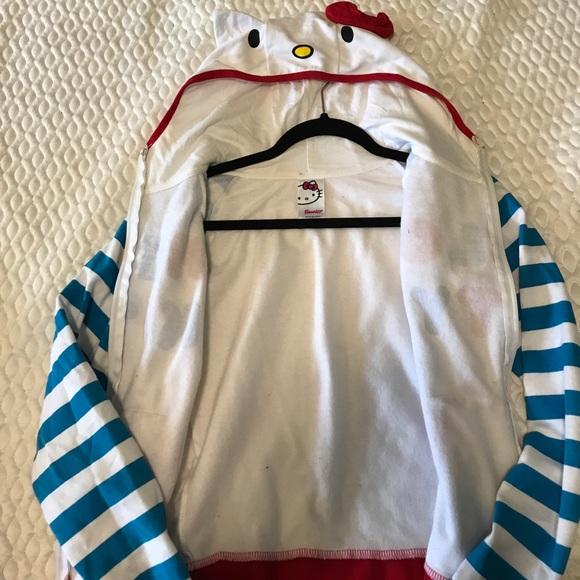 Lick kitty zipper hoodie