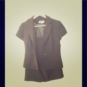 Calvin Klein short sleeve skirt suit!