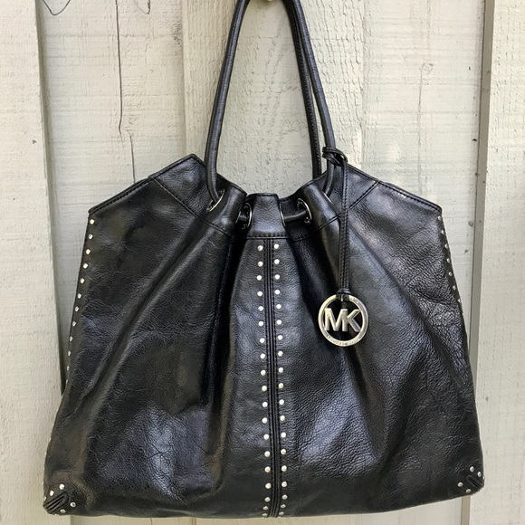 df1bb3b019405e ... MICHAEL KORS Astor Studded Ring Tote Bag. M_5973bd71ea3f36731801feaf