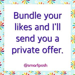 Other - .Bundle your likes for a private offer from me.