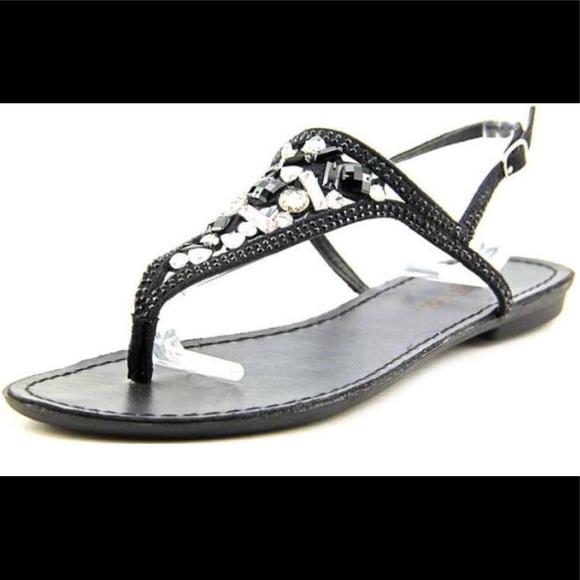 66552e0a5c09cd Zigi Soho Shoes | Fazed Bejeweled Sandal | Poshmark