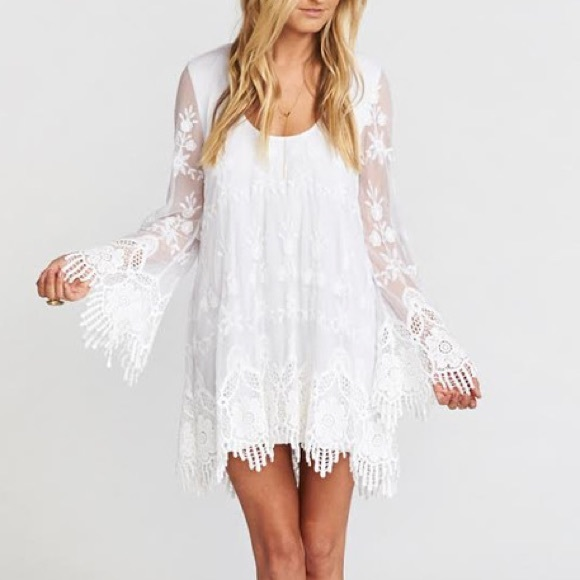 3311597e3b4d Show Me Your MuMu Dresses | Fannie Flow Dress Fields Of Lace | Poshmark