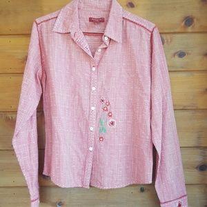 Sundance catalogue 100 % cotton blouse