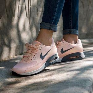 Nike Light Peach Air Max 90 Ultra 2.0 Sneakers