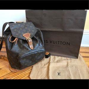 Authentic Louis Vuitton Montsouris GM