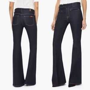 7 For All Mankind The Pintuck Trouser Jeans