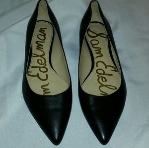 Sam Edelman reyanne black pointed toe flats
