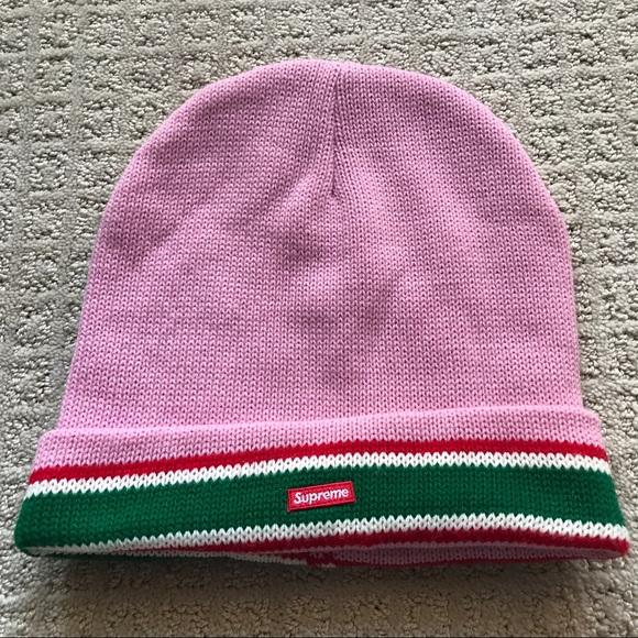 New Pink Supreme Beanie a9af9d98df5