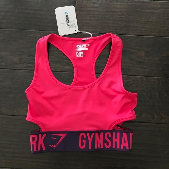 2dceadf7fcfac Gymshark Fit Sports Bra- Cranberry Rich Purple