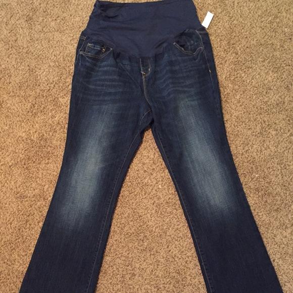 87d3e128ab141 Old Navy Jeans | Full Panel Maternity 18 Long | Poshmark