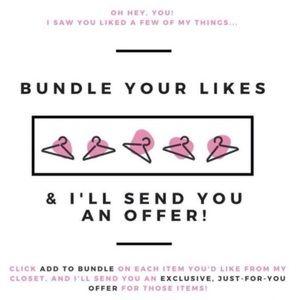 Bundle Your Likes💕💕