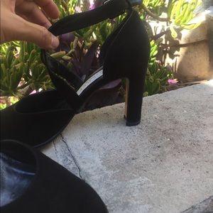 Pura Lopez Shoes - Vintage Pura Lopez black suede heels Spain 🇪🇸