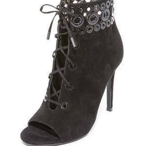 Kendall & Kylie Shoes - Kendall & Kylie Giada Peep Toe Booties