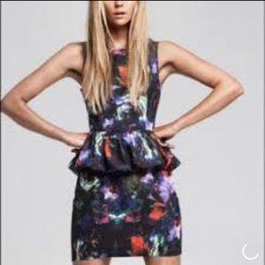 H&M - Floral Peplam Dress