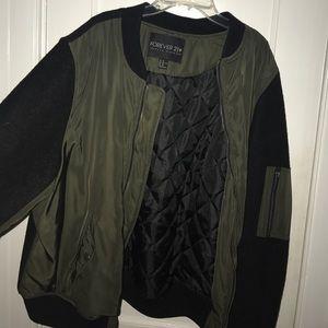 Plus size bomber jacket