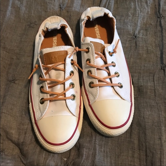 8920dd0593b91a Converse Shoes - Converse shoreline white leather 10