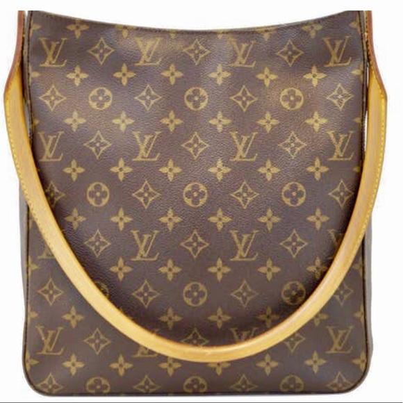 e68a13c339c6d Louis Vuitton Handbags - Authentic Louis Vuitton Monogram Looping GM Bag