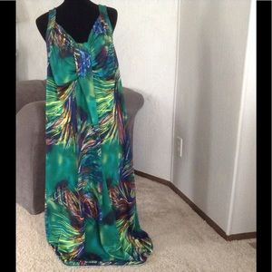 ANTTHONY ORIGINAL Dresses - Tropical Maxi Dress Set