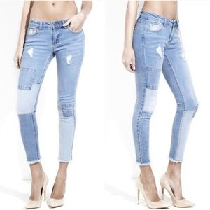 Denim - 🌟HP 5/8🌟 Distressed Patched Jeans