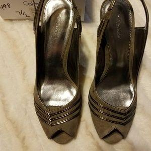 Calvin Klein sling back shoes