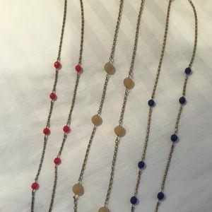 J. Crew Bead Necklaces