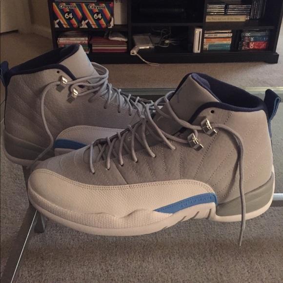 Jordan Other - Men s Nike Air Jordan Retro 12 - UNC - Size 10 62ce9ff01