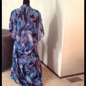 CATHERINE'S Dresses - TEAL & BLUE Dress Set.