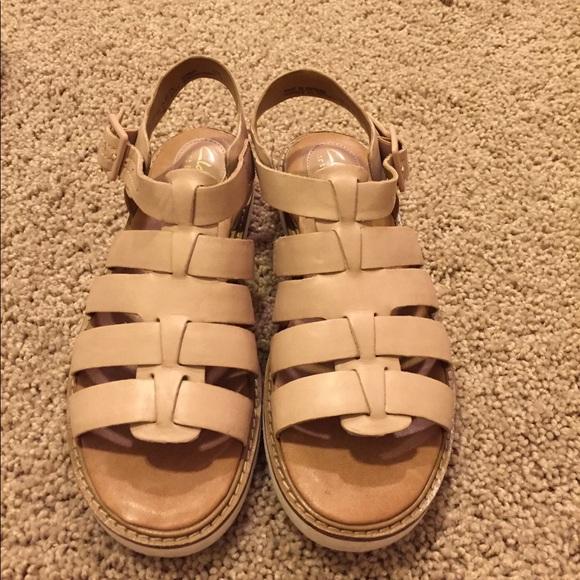 28db9089a5c Clarks Shoes - Clarks Artisan Lydia Kona gladiator sandal