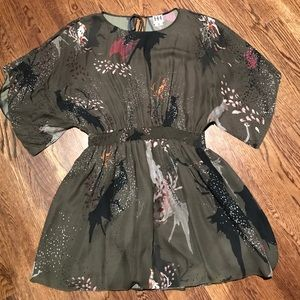 Haute Hippie 100% Silk dress M