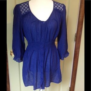 Tops - Blue tunic