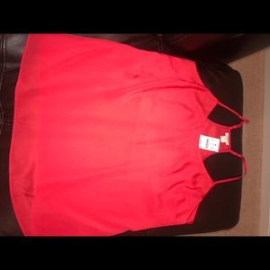Red J.Crew Tank Top NEW WITH TAGS (NWT)