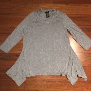 Tops - Grey Blouse