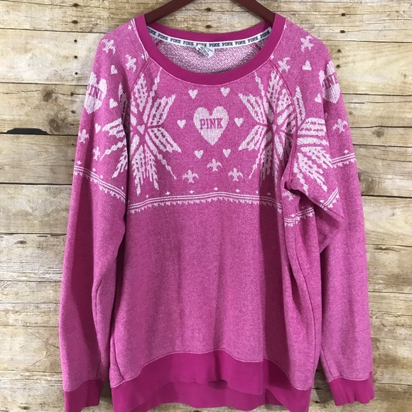 53% off PINK Victoria's Secret Sweaters - PINK VS Oversized ...